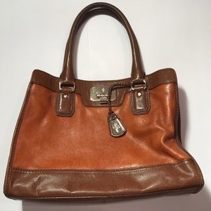 Cole Hahn Leather Satchel